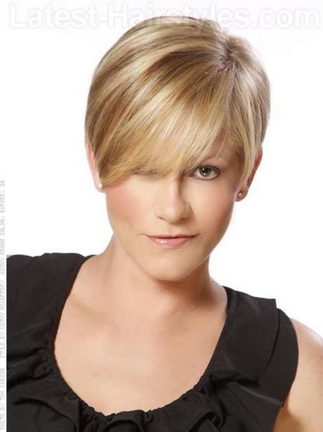 new hair styles for blondes apple face nice short haircuts