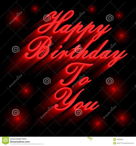 happy birthday red design happy birthday stock illustration image of background