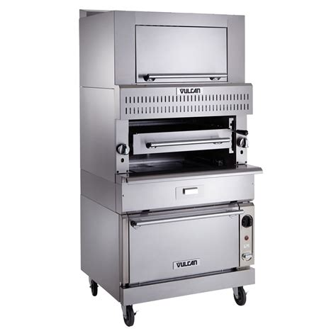 Commercial Kitchen Broiler by Vulcan Vir1sf Deck Broiler W Infrared Burners Standard