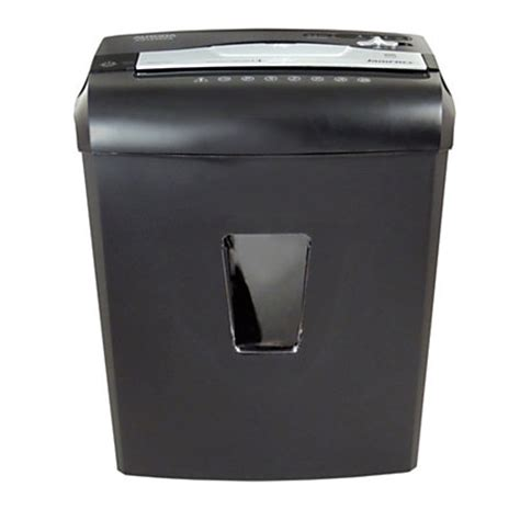office depot coupons paper shredder aurora jamfree 12 sheet cross cut paper shredder au1240xa