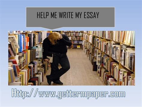 Help Me With My Essay by Help Me Write My Essay