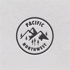 pacific northwest design pacific northwest typography pinterest logo design and circles
