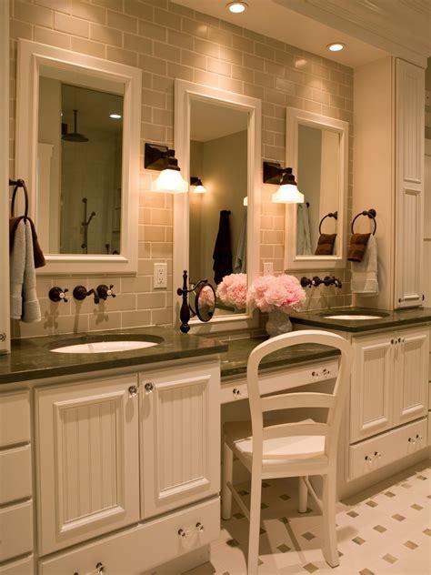 Bathroom Makeup Vanities » Home Design 2017