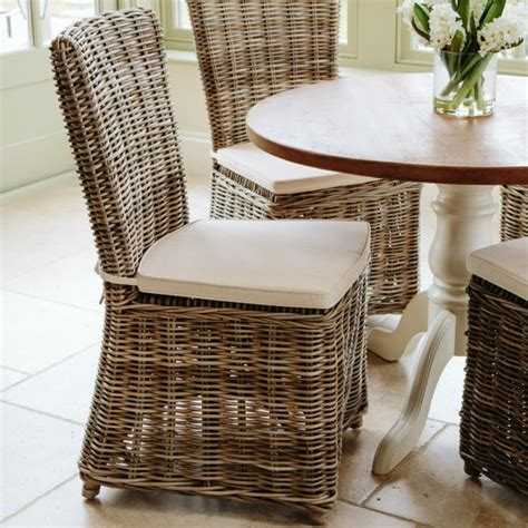 Wicker Dining Chair Cushions Buy Rattan Dining Chairs Rustic Rattan Dining Chairs Seating