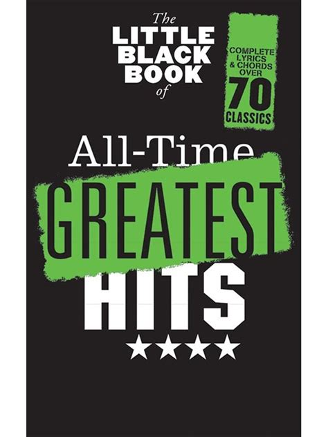 the little black book 1119209315 hal leonard the little black book of all time greatest hits lyrics and chords woodbrass n 176 1