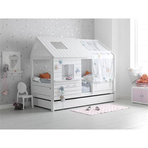 chambre enfant lit cabane le lit cabane fille id 233 es en images
