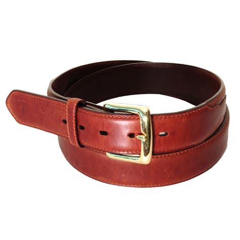 smooth leather belt brown 1013 mens belt