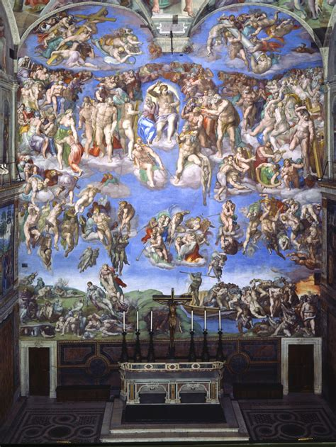 The Judgment the last judgement vatican museums