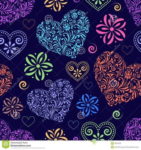 imagenes de corazones abstractos corazones coloridos abstractos imagen de archivo libre de