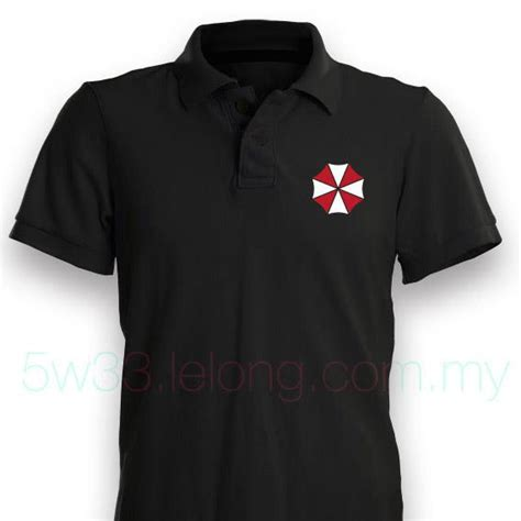 Kaos Baju Umbrella Corporation 1 umbrella corporation polo shirt end 4 1 2019 12 00 am