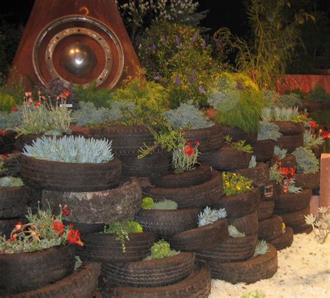 Garden Using Tires The Dirt On Raised Garden Beds Mining The Waste