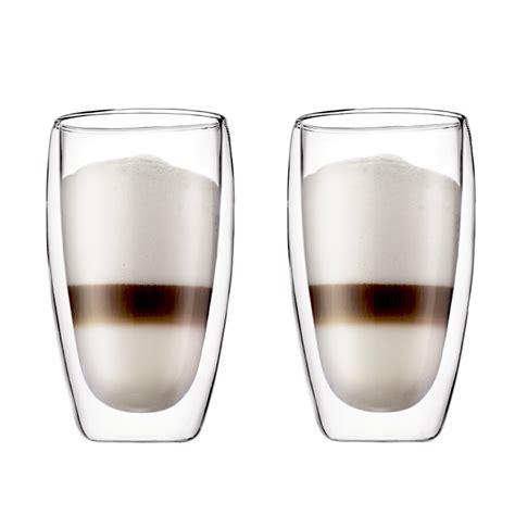 bicchieri bodum pavina latte macchiato glas bodum shop