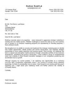 Cover Letters For Marketing by Marketing Cover Letter Exle Cover Letter Exle And Letter Exle