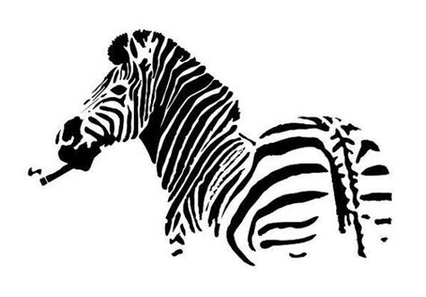 zebra template zebra stencil diy zebras and stencils