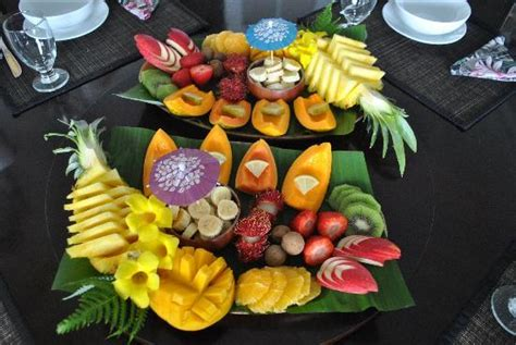 orchid tree bed and breakfast fresh fruit with breakfast picture of orchid tree bed