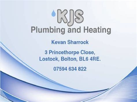 Plumbing Supplies Bolton by Kjs Plumbing And Heating Central Heating Repair Company