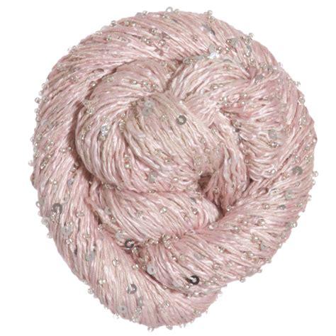 beaded yarn artyarns beaded silk sequins light yarn 215 w silver