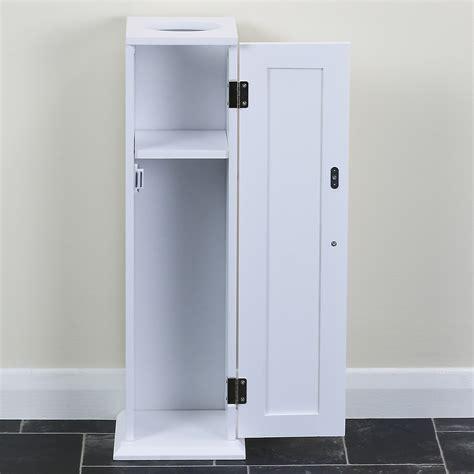 wc modern 2347 classic white bathroom storage unit for toilet rolls