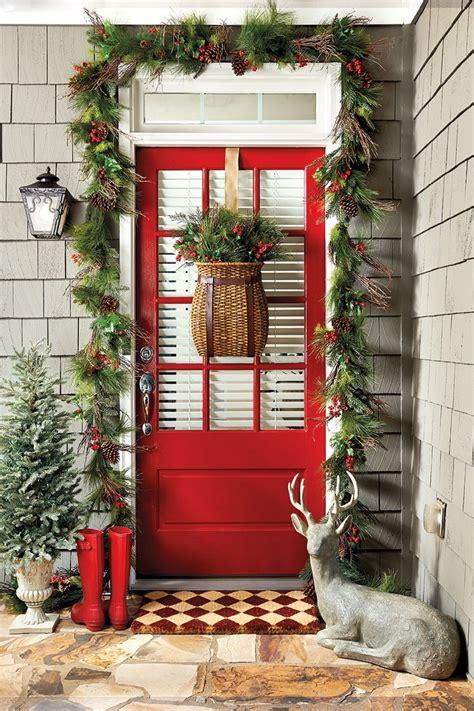 ways  decorate  entry   holidays