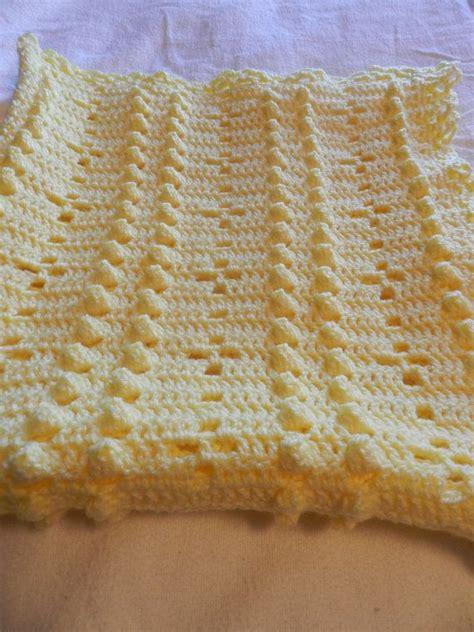 Crochet Popcorn Stitch Baby Blanket by Crochet Stitches Popcorn Wmperm For