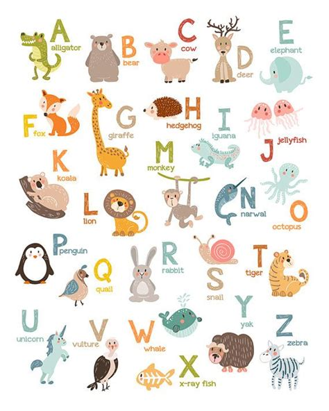 abc book of animals learn alphabets with animals in the jungle books 25 unique animal alphabet ideas on free