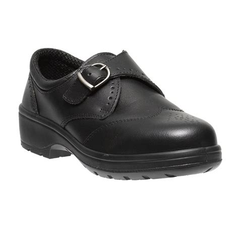 dolby smart executive black leather slip on brogue