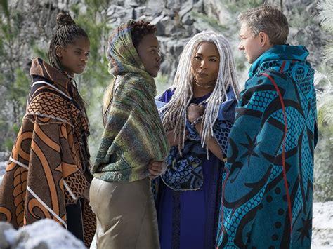 letitia wright character black panther chadwick boseman praises the super heroic women of black