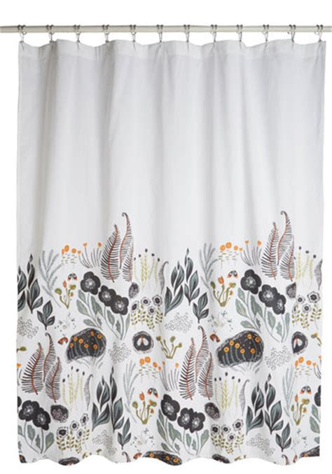 modcloth shower curtain flutter beauty shower curtain mod retro vintage bath