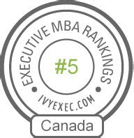 Executive Mba Without Undergraduate Degree Canada by Executive Master Of Business Administration