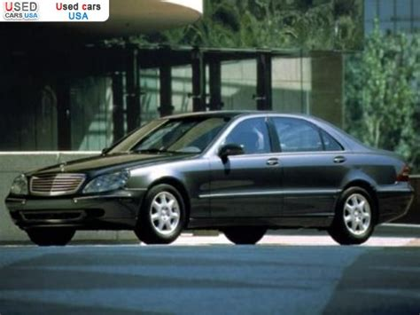 mercedes s class price in usa for sale 2000 passenger car mercedes s class 500