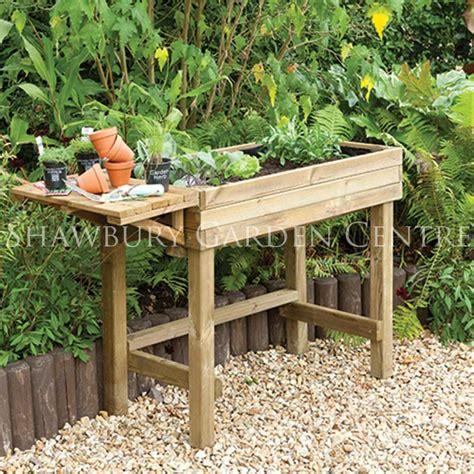 Garden Trough Planters Uk by Forest Garden Trough Table Planter