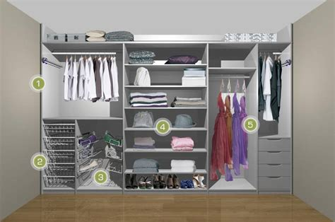 womens fitted wardrobe white 1 walk in closet
