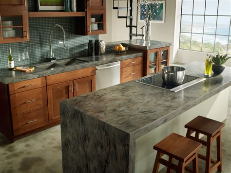 2010 New Colors Of Corian Countertops Offer Great Kitchen Countertop Material