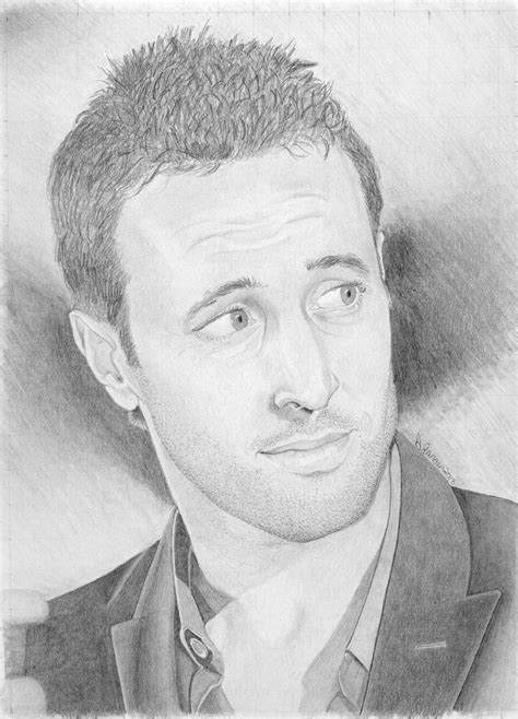Sketches O Loughlin my drawing of alex o loughlin who plays steve on