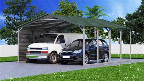 Car Port Frame by A Frame Metal Carports For Sale Boxed Eave Roof Steel Carports