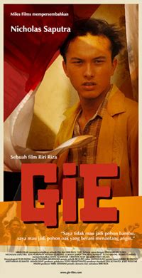 Gie Film Poster | gie wikipedia