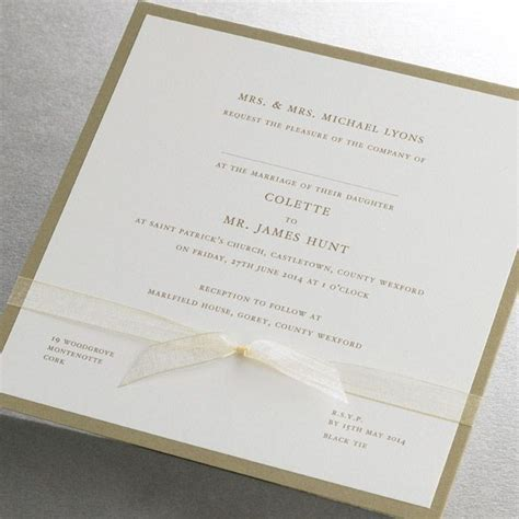 17 Best ideas about Wedding Invitations Ireland on
