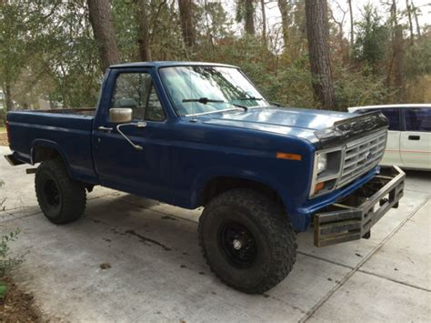 1981 Ford F150 by 1981 Ford F150 4x4 Manual