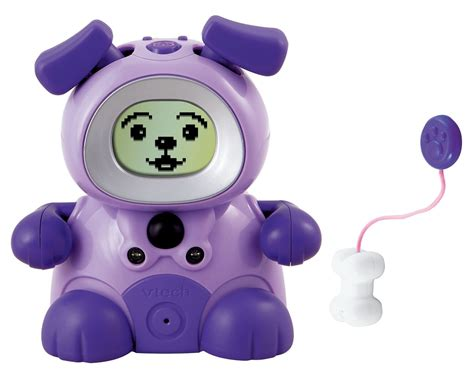 vtech puppy vtech kidiminiz kididog interactive pet purple puppy ebay