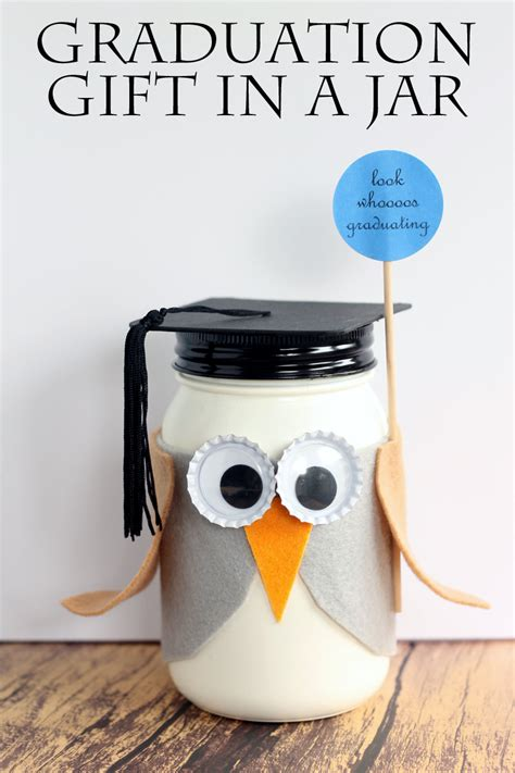 Graduation Gifts by Graduation Jar Gift The Country Chic Cottage