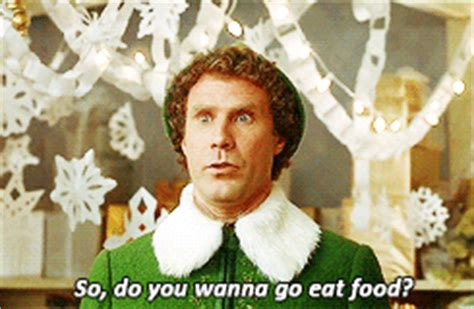 what do you get if you eat christmas decorations will ferrell zooey deschanel literally me gif welcometoassgard