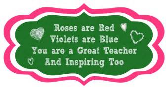 roses are red printable teacher poem diy inspired