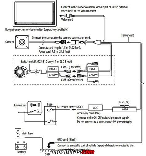 wiring diagram kamera mundur k grayengineeringeducation
