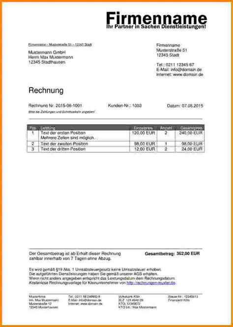 Muster Rechnung Schweiz invoice proforma studio design gallery best design