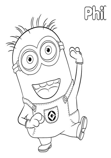 imagenes del minions kevin para dibujar 56 dibujos de minions para descargar gratis imprimir y