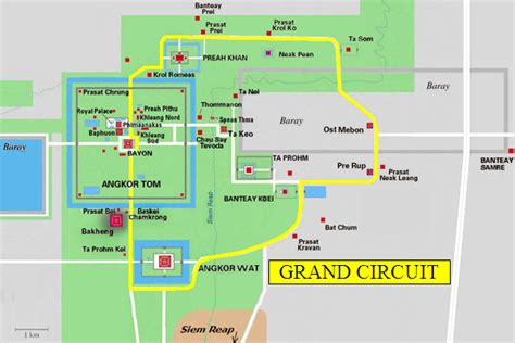 temple grand map angkor what a review of the small circuit temple tour at