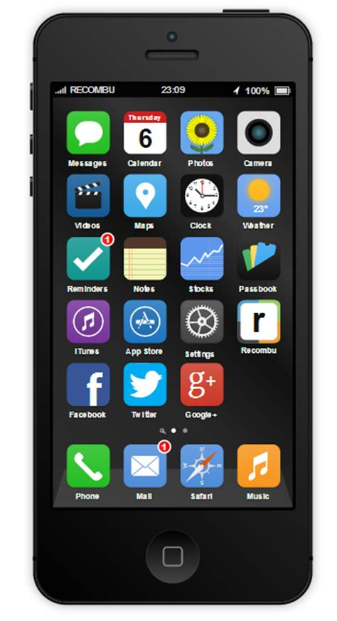 Play Around With The Yoyo Concept Phone by This Ios 7 Concept Is Interactive Try It On A Mockup