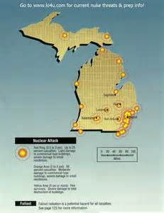us fallout shelter map nuclear war fallout shelter survival info for michigan