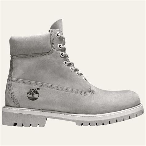 gray timberland boots mens nwob s timberland 6 inch premium grey waterproof work