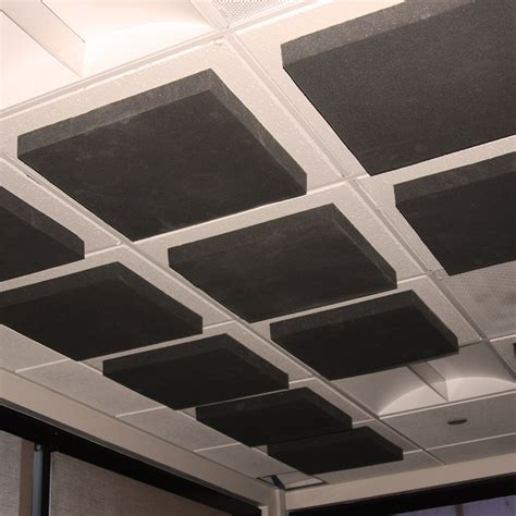 Covering Acoustic Ceiling Tiles by Suspended Ceiling Foam Tile
